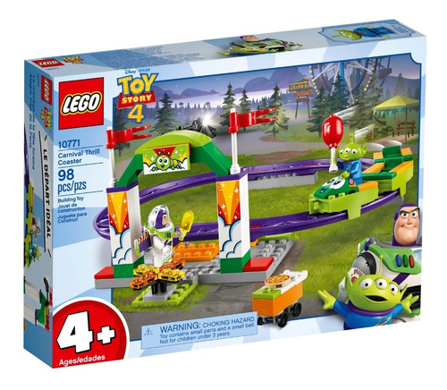 lego ® toy story - carnival thrill coaster