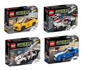 Campeones Set Coches De 4 Lego Juguete Paque Velocidad 1c3lTKFJ
