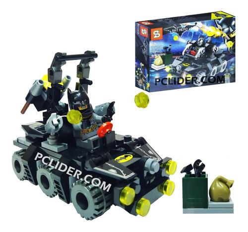lego vengadores batman con vehiculo muñeco juguetes