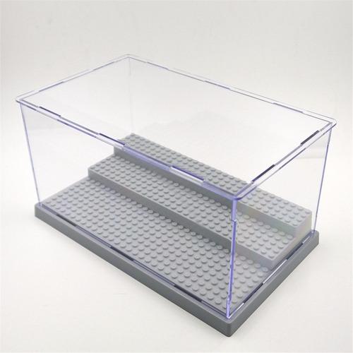 lego vitrina stand coleccionador base exhibidor display