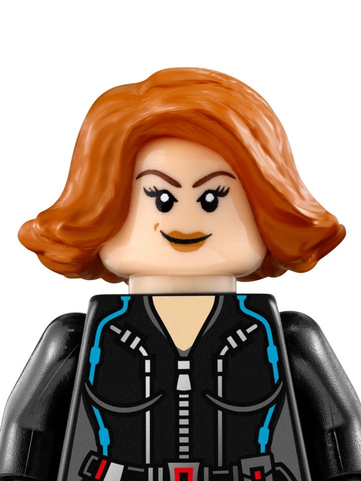 Lego Viuda Negra Black Widow 76042 Avengers Legobricksrfun ...