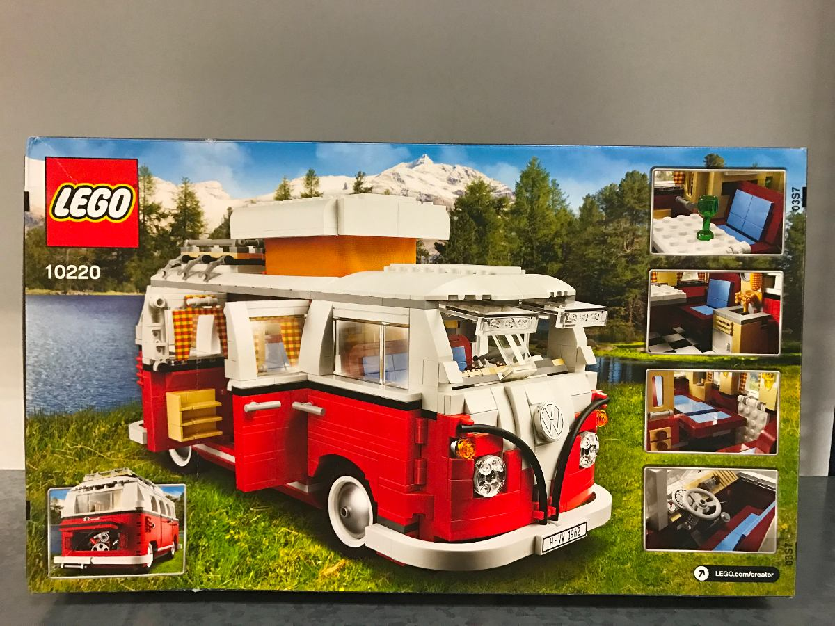 lego volkswagen combi t1 camper van 10220 sistema de pagos 3 en mercado libre. Black Bedroom Furniture Sets. Home Design Ideas