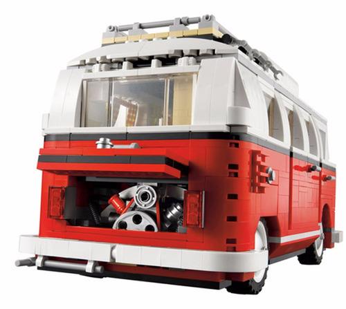 lego volkswagen t1 camper van 10220 + lego obsequio