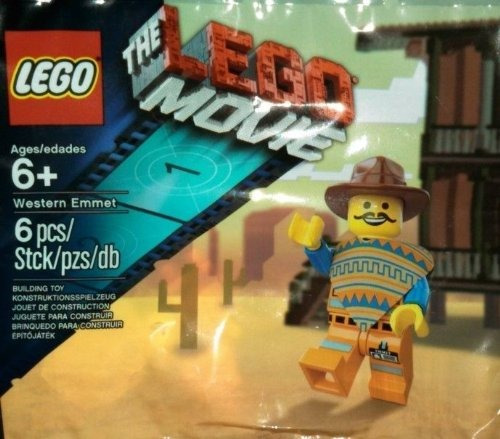 lego western emmet the lego movie exclusive figure