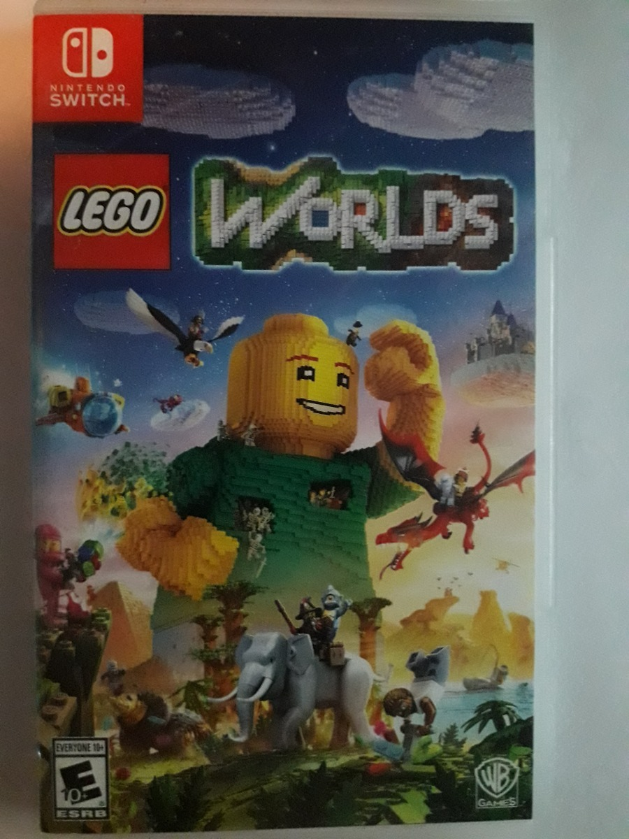 Lego Worlds Para Nintendo Switch Juego Original 1 530 00 En