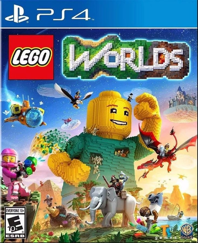 lego worlds ps4 sellado físico original en palermo.