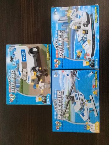 lego yayo toys -city police- 84 piezas