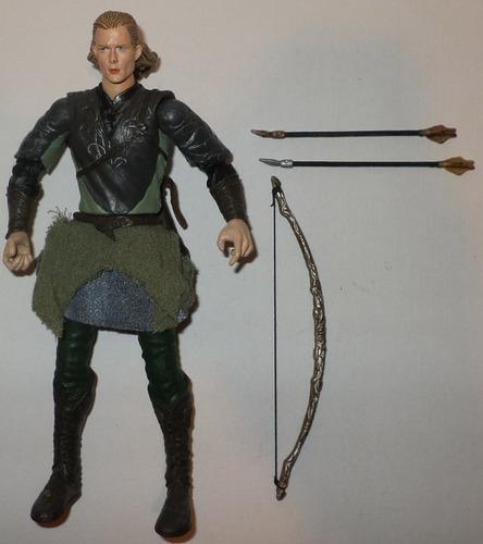 legolas elfo jinete lotr toy biz el señor de los anillos