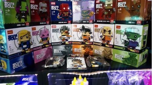legos dragon ball z marvel vengadores excelente calidad