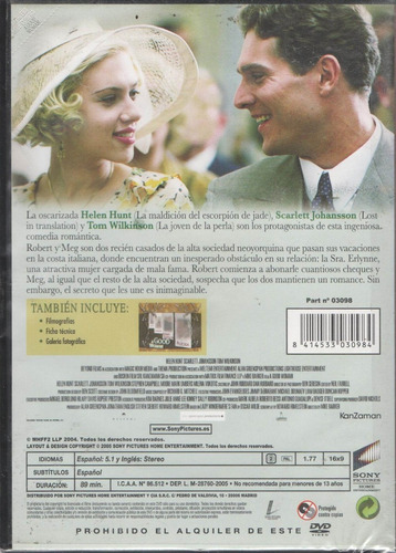 legoz zqz a good woman- dvd - fisico - ref- 188