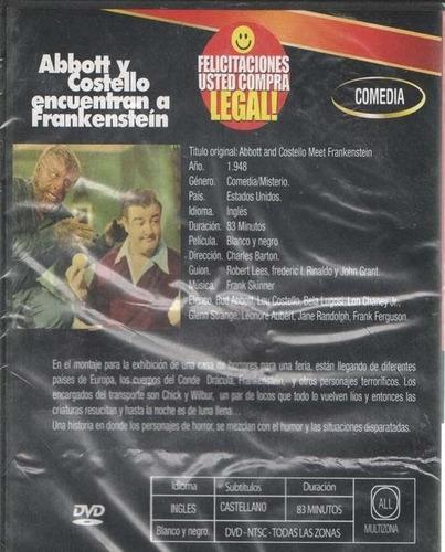 legoz zqz abbott y costello encue - dvd - fisico - ref - 869
