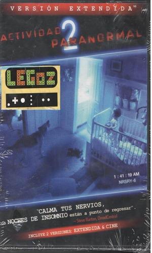 legoz zqz actividad paranormal 2 dvd sellado ref 817