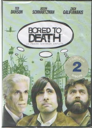 legoz zqz bored to death - dvd - fisico - ref- 932