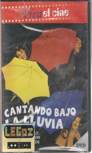legoz zqz cantando bajo la lluvia - dvd sellado ref - 197