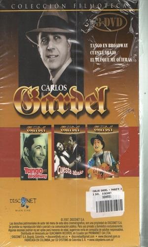 legoz zqz carlos gardel coleccion - dvd - fisico - ref- 851