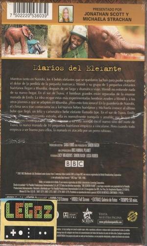 legoz zqz diarios del elefante vol 2- dvd-fisico - ref 822