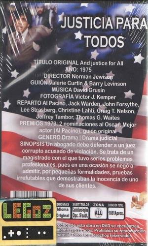 legoz zqz dvd and justice for all - disco fisico ref - 533