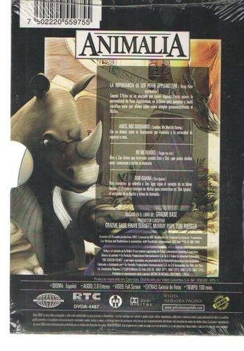 legoz zqz dvd - animalia vol 5 - sellado - ref- 965