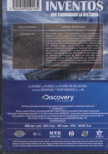 legoz zqz dvd - discovery inventos -sellado - ref -171