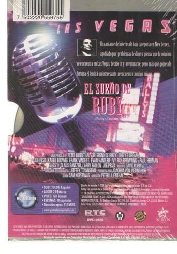legoz zqz dvd - el sueno de ruby - sellado - ref-956