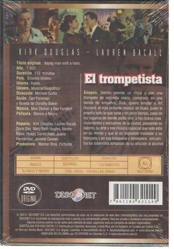 legoz zqz dvd - el trompetista -sellado - ref- 907