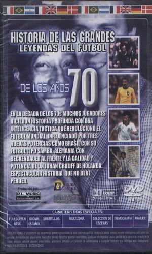 legoz zqz dvd historia de las grandes le -sellado -ref -1535