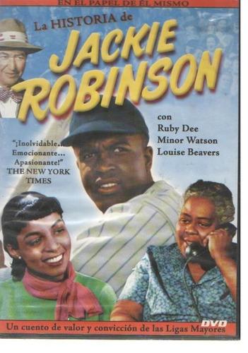 legoz zqz dvd- jackie robinson-fisico - ref 954