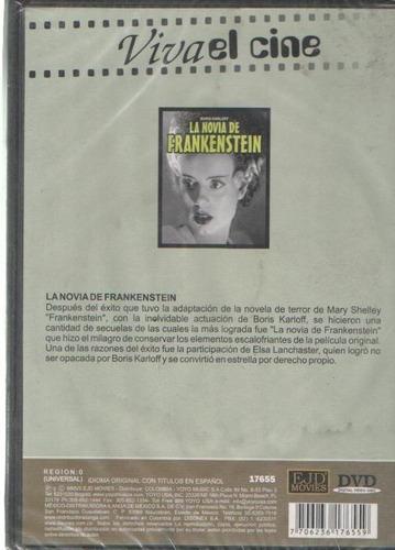 legoz zqz dvd - la novia de frankenstein - sellado- ref- 925