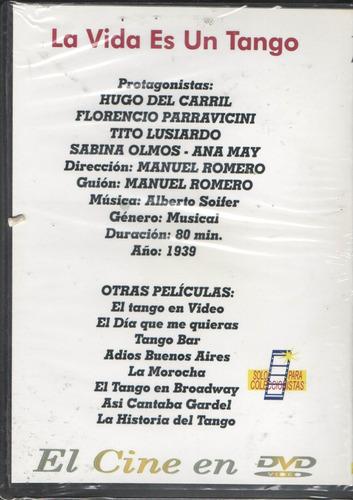 legoz zqz dvd-la vida es un tango-fisico- ref 458