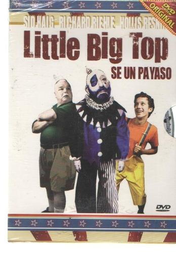 legoz zqz dvd -little big top se un payas - sellad - ref-950