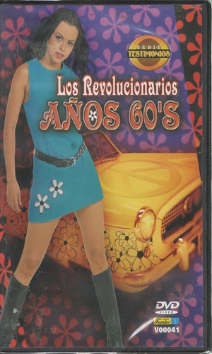 legoz zqz dvd-los revolucionarios anos 60's-fisico-ref 816