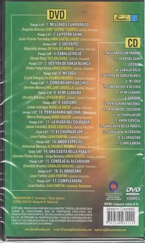legoz zqz dvd - mi llano es un paraiso -fisico - ref 813