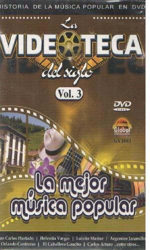legoz zqz dvd - musica popular vol 3 - fisico - ref- 1044
