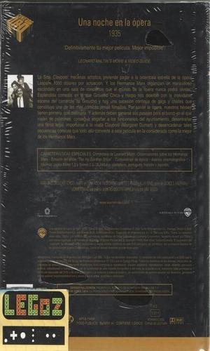 legoz zqz dvd una noche en la opera - fisico ref-201