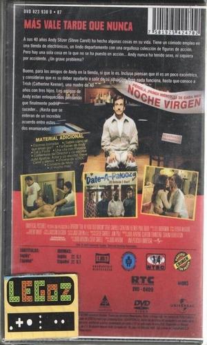 legoz zqz dvd virgen a los 40 años - disco fisico ref 218