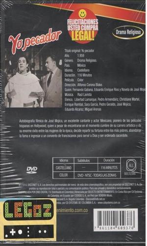 legoz zqz dvd-yo pecador -fisico- ref 901