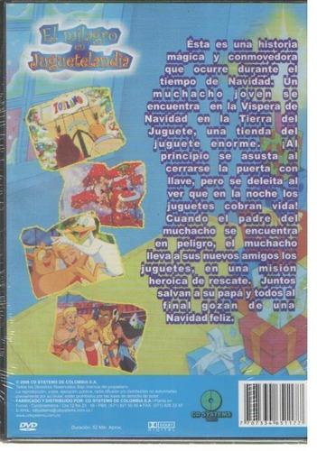 legoz zqz el milagro en jugueteland- dvd - fisico - ref- 852