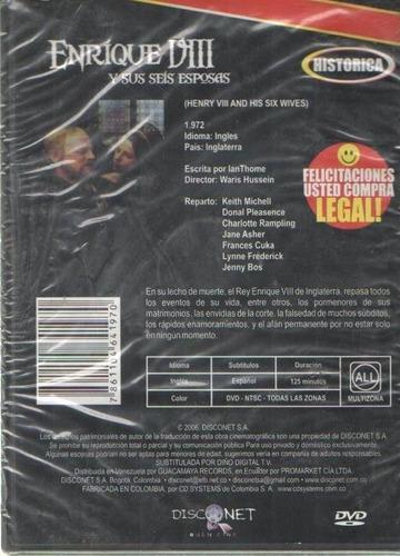 legoz zqz enrique viii y sus seis - dvd - fisico - ref- 862