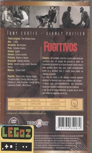 legoz zqz fugitivos 1958- sellado - dvd ref 511