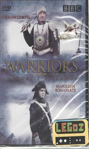 legoz zqz heroes y villa. napoleon- dvd - fisico - ref- 1129