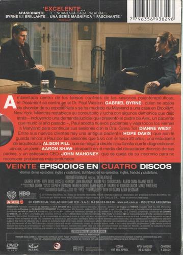 legoz zqz in treatment segunda tempor dvd -fisico - ref -939