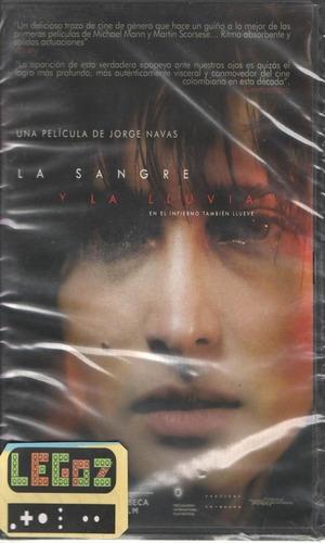 legoz zqz la sangre y la lluvia - dvd - fisico - ref- 1138