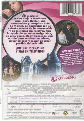legoz zqz roxy hunter - dvd - sellado - ref 909