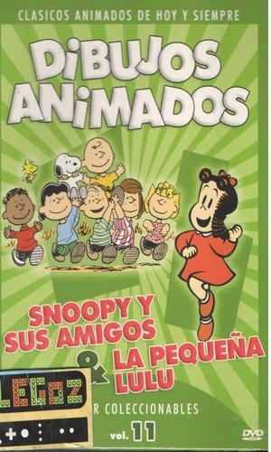 legoz zqz snoopy y sus amigos- dvd - sellado - ref 471