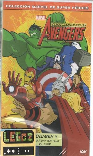legoz zqz the avengers vol. 4 sellado dvd ref 843