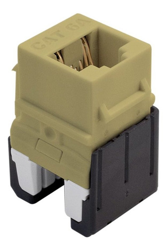 legrand - on-q wp346aiv cat 6a conexión rápida rj45 keysto
