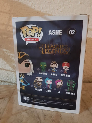 legue of legends funko pop ashe