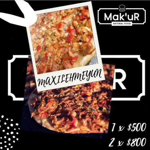 lehmeyum empanada armenia gigante carne /veggie y pizzas