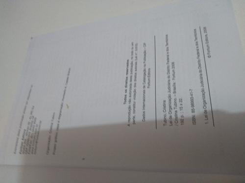 lei de organização judiciária do distrito federal e dos terr