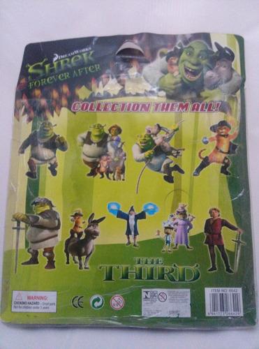 leia o anuncio! miniaturas personagens do filme shrek c/ luz